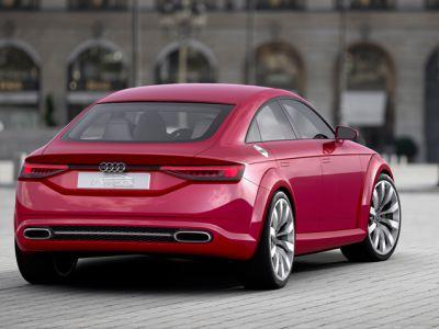 Najnowsze Audi TT Sportback