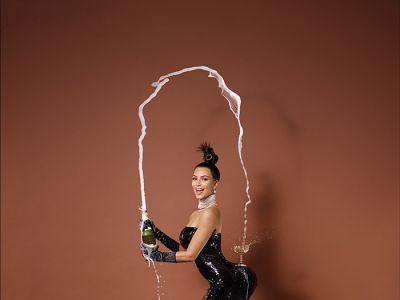 Afera z pupą Kardashian w tle