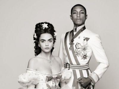 Cara Delevingne i Pharrell razem dla Chanel