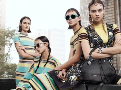 Trendy kampanie: Cara Delevingne w DKNY
