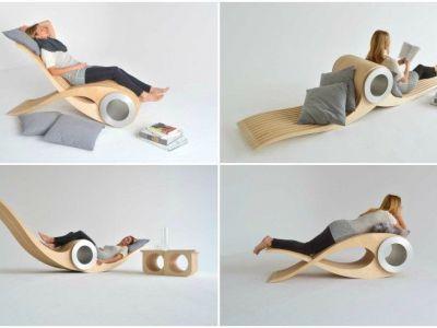Trendy w designie: modułowe krzesło