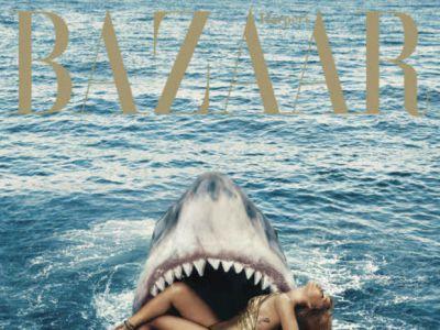 Rihanna w szczękach rekina