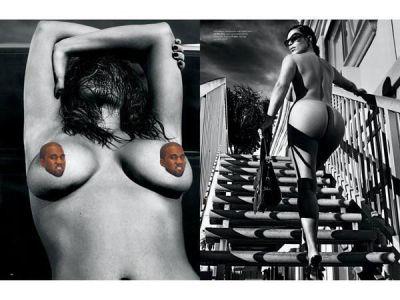Kim Kardashian prowokuje