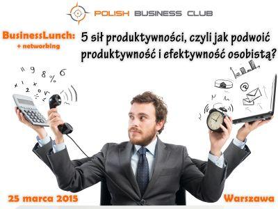 Weź udział w spotkaniu networkingowo-biznesowym