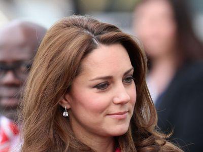 Kate Middleton znów w różowym