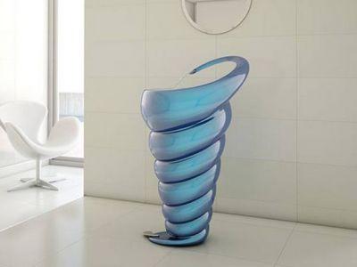 Abstrakcyjna umywalka