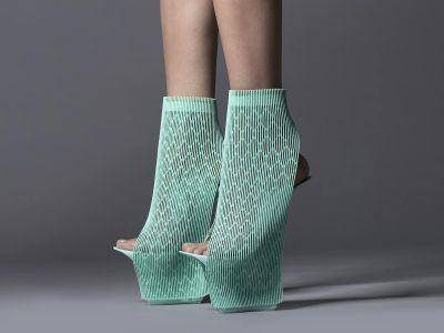 Ekskluzywne architektoniczne buty 3D