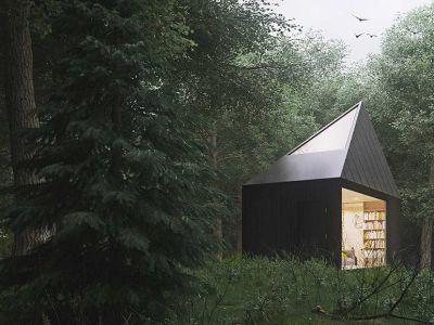 Trendy w architekturze: Leśny domek