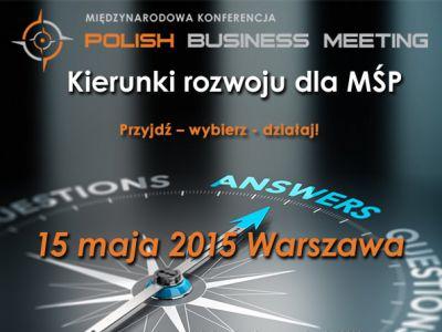 Polish Business Meeting już 15 maja