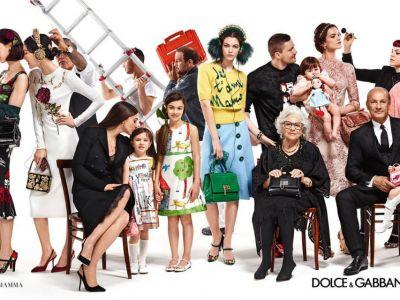 Trendy kampanie: Dolce & Gabbana jesień 2015