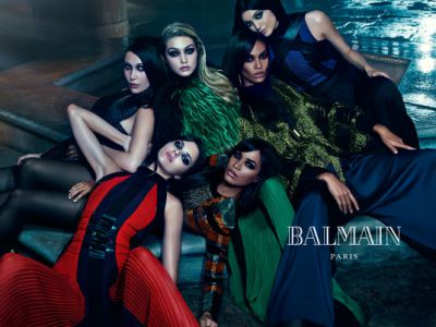Trendy kampanie: Balmain jesień 2015