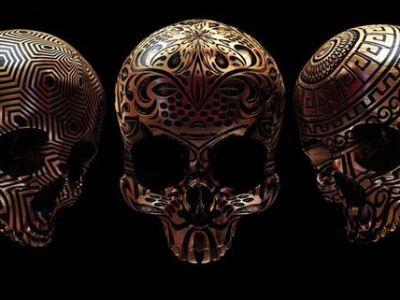 Sztuka współczesna: Designerska czaszka