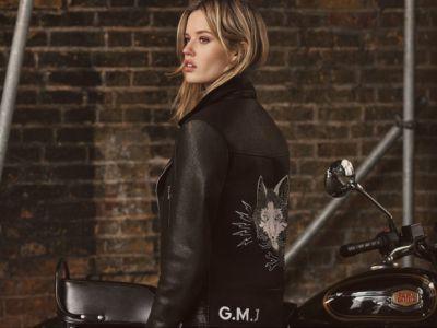 Georgia May Jagger projektantką