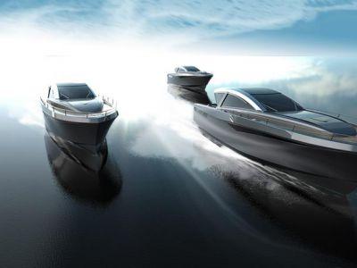 Luksusowe łodzie: Rekiny