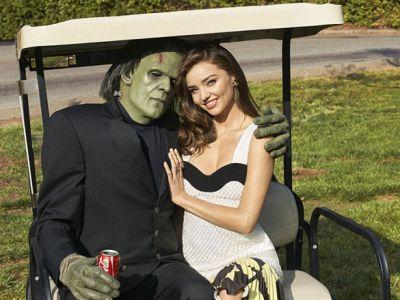 Miranda Kerr w otoczeniu potworów
