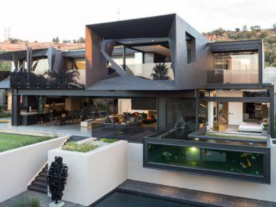 Architektura trendy: Designerski dom ze stali