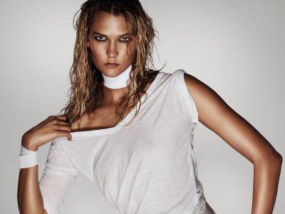 Zmysłowe modelki: Karlie Kloss