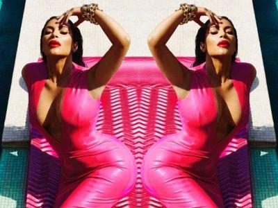 Zmysłowa Kim Kardashian