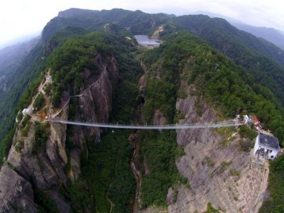 Architektura Chiny: Szklany most