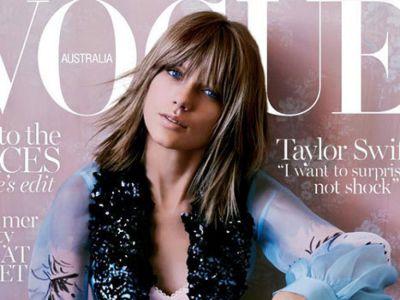 Taylor Swift na okładce Vogue