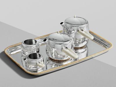 Dizajnerski serwis do herbaty