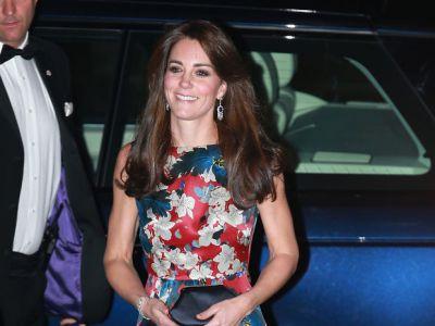Księżna Kate w kwiatach