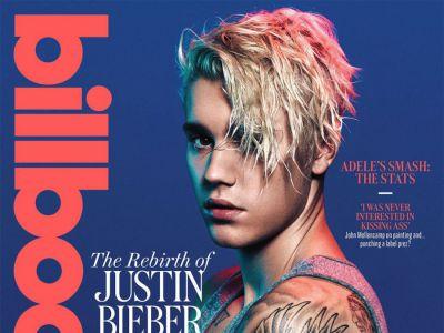 Justin Bieber na okładce Billboard