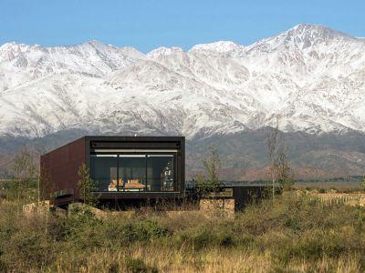 Minimalistyczna rezydencja w Andach