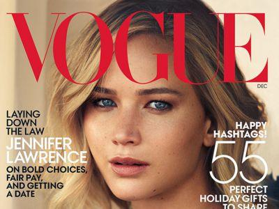 Jennifer Lawrence na okładce Vogue