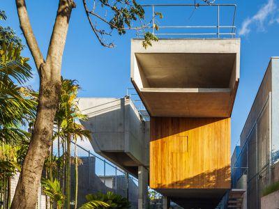 Modernistyczny dom w São Paulo