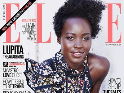 Lupita Nyong′o na okładce Elle
