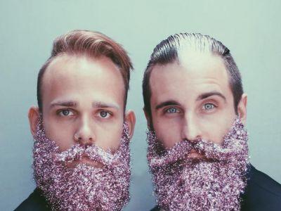 Trend na brokatowe brody