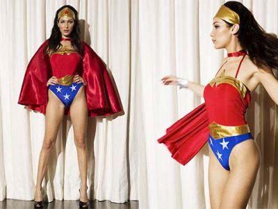 Bella Hadid w roli Wonder Woman