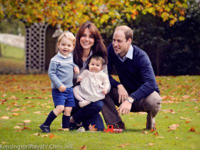 Królewska rodzina na Święta