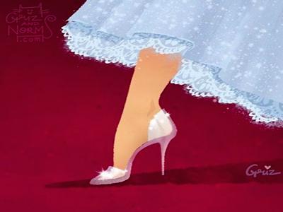 Buty księżniczki