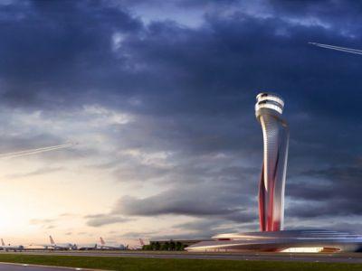 Wieża kontroli lotniczej w Stambule