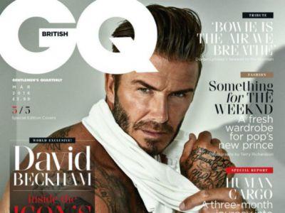 Współczesny Adonis David Beckham