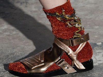 Trendy moda 2016: grube skarpety