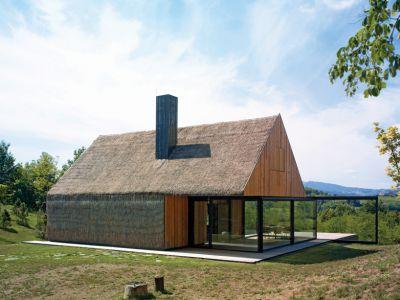 Designerski dom na wsi