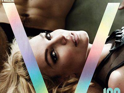 Britney Spears na okładce V