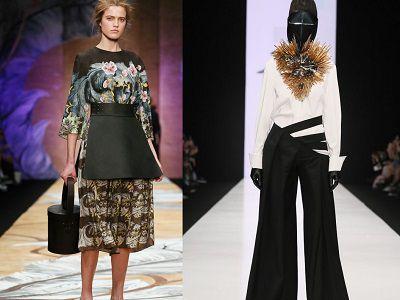 Trendy moda 2017 z Moskwy
