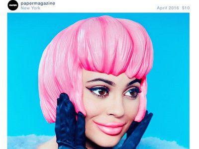 Pierwsza okładka Kylie Jenner w PAPER