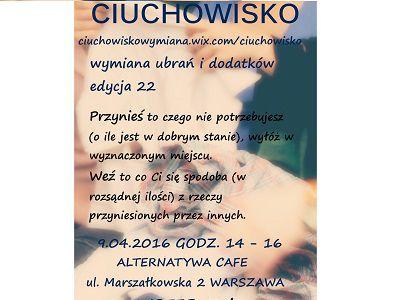 Ciuchowisko w Warszawie