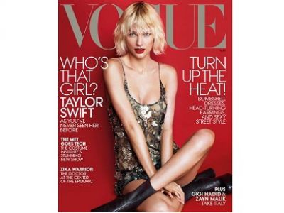 Taylor Swift na okładce Vogue