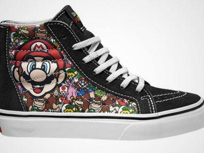 Sneakersy Nintendo