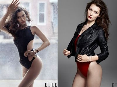 Bella Hadid na okładce Elle