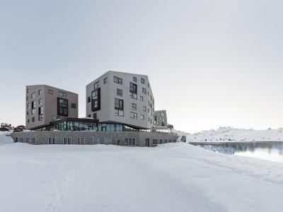 Wyrafinowany hotel w Alpach
