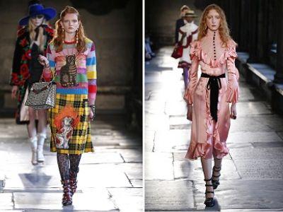 Trendy moda 2017: ekscentryczna estetyka
