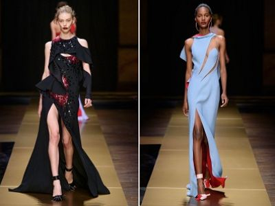 Moda jesień 2016: kolekcja couture Atelier Versace