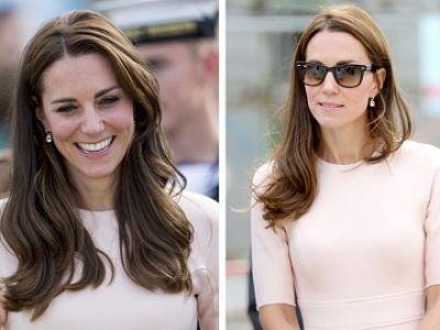 Kate Middleton w różu